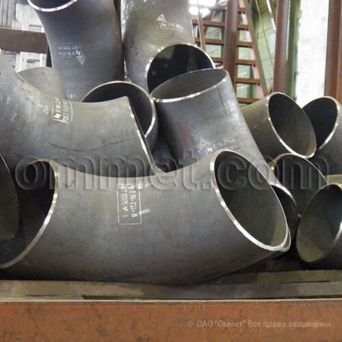 Отвод крутоизогнутый 45 гр ГОСТ 30753-2001
