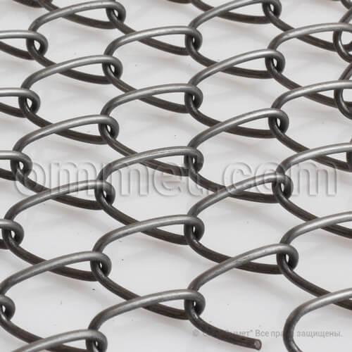 Сетка стальная плетёная одинарная